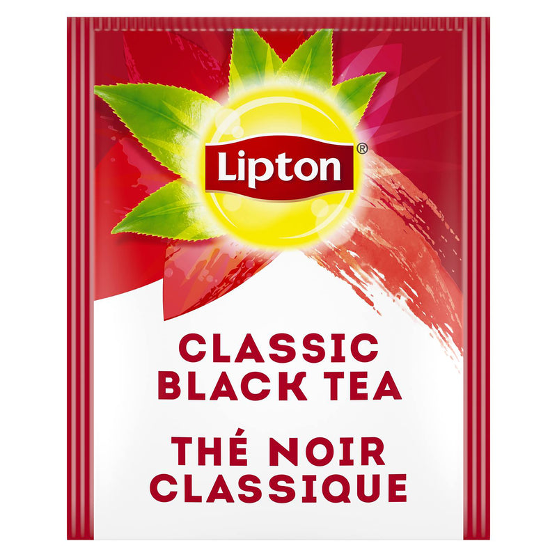 Lipton Hot Tea Bags Classic Black 28 Count, Pack of 6