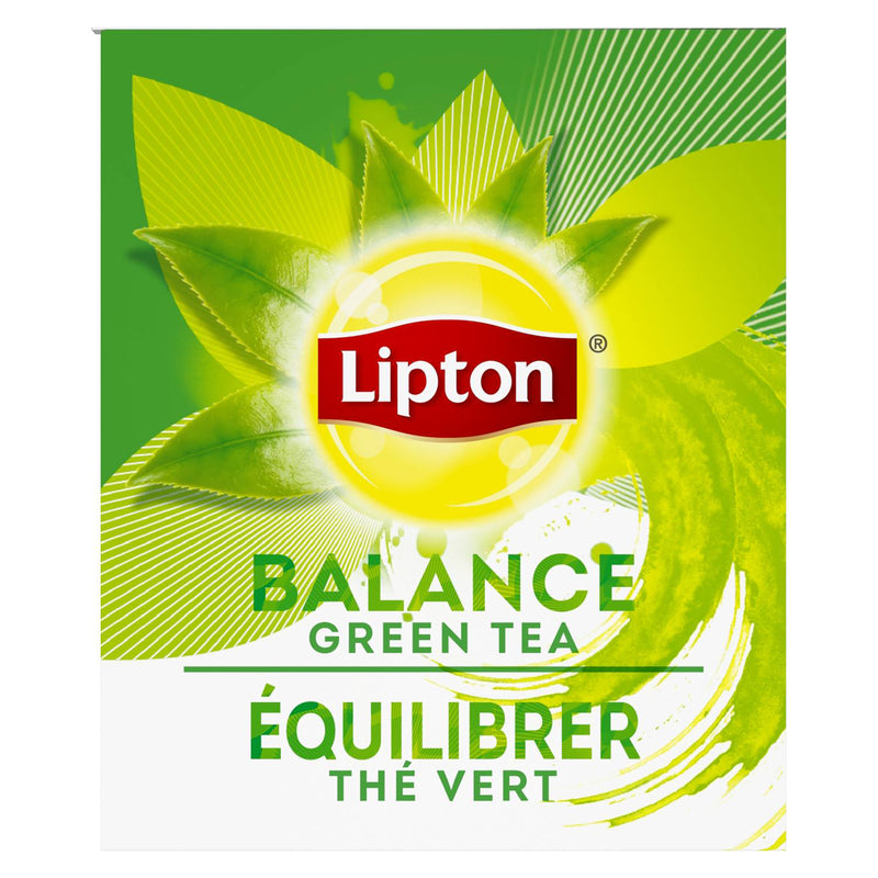 Lipton Hot Tea Bags Green 28 Count, Pack of 6