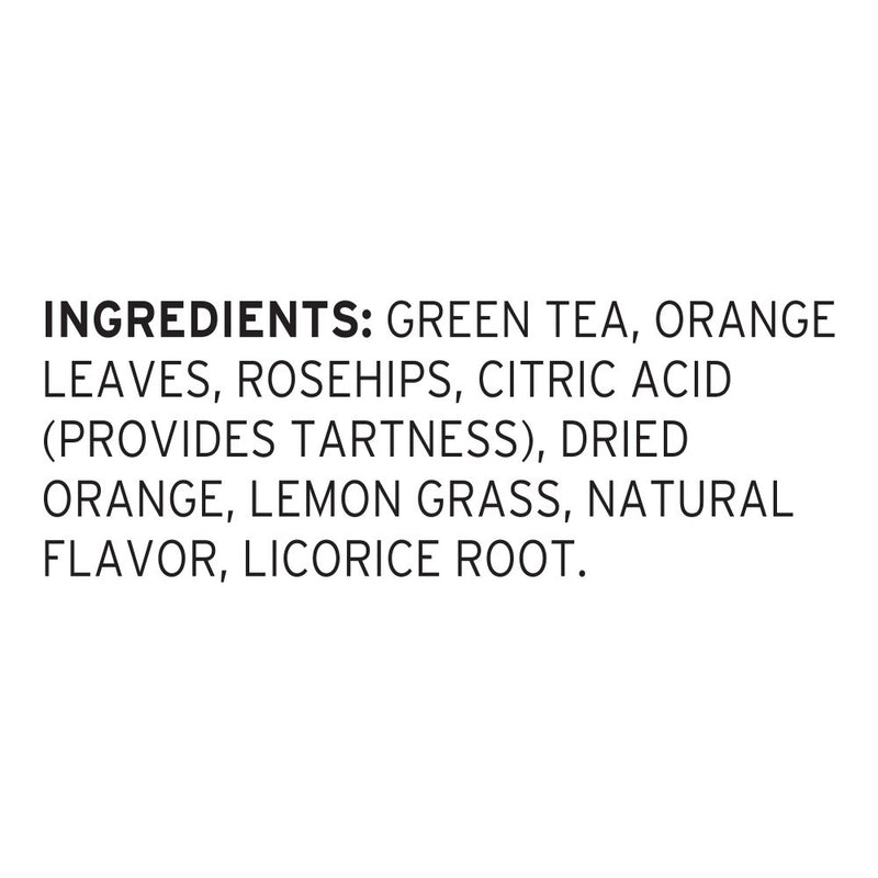 Pure Leaf Iced Loose Tea Pouch Green with Citrus 3 gallon, Pack of 24