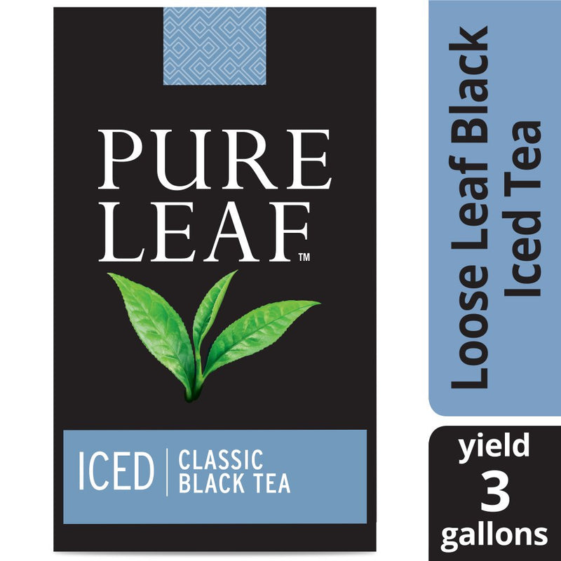 Pure Leaf Iced Loose Tea Pouch Black 3 gallon, Pack of 32