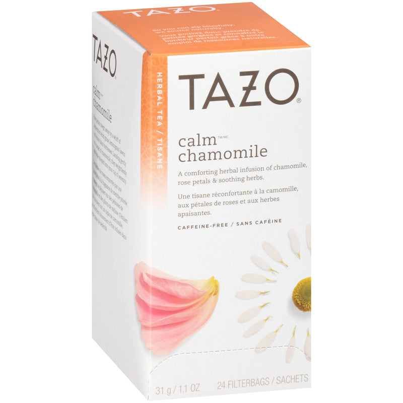 Tazo Hot Tea Filterbag Calm Chamomile 24 count Pack of 6
