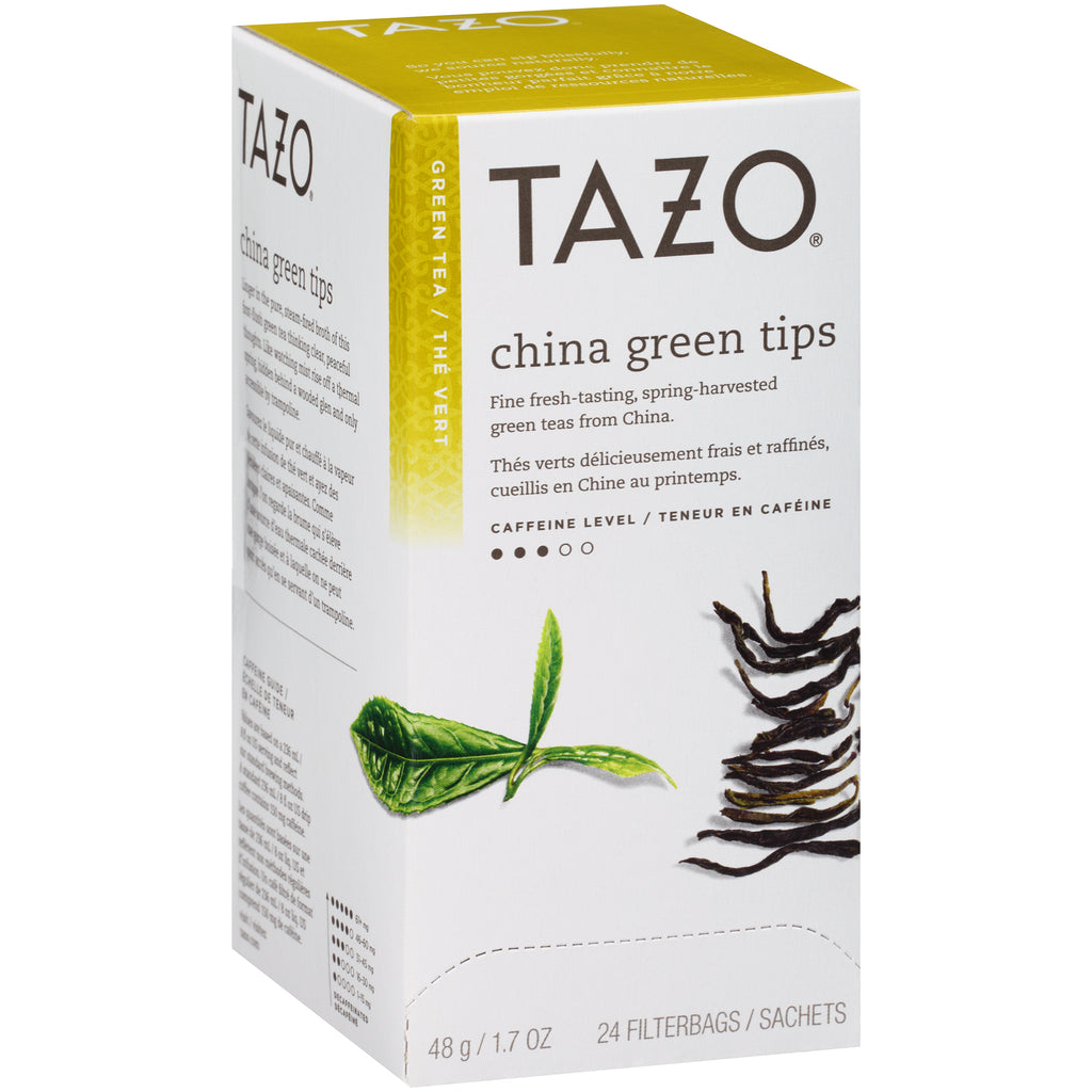 Tazo Hot Tea Filterbag China Green Tips 24 count Pack of 6