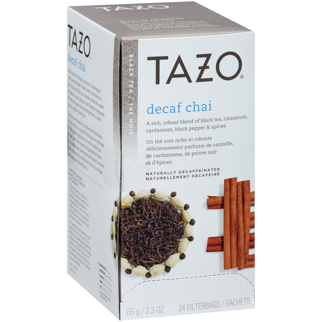 Tazo Hot Tea Filterbag Decaf Chai 24 count Pack of 6