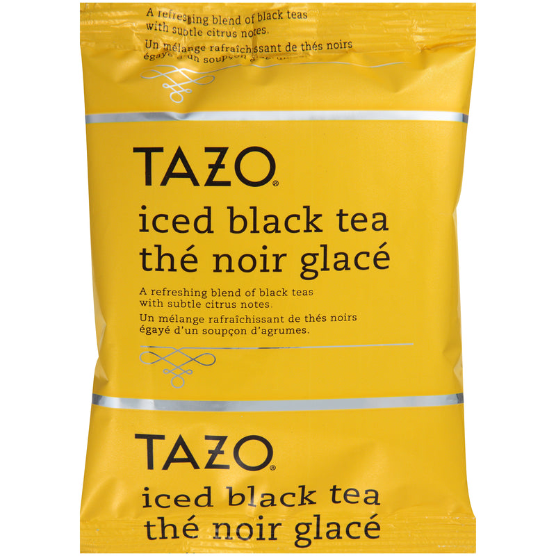 Tazo Fresh Brewed Iced Tea Black 3 gallon Pack of 48