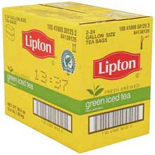 Lipton Iced Tea Green 1 gal Yield, 24 count, Pack of 2