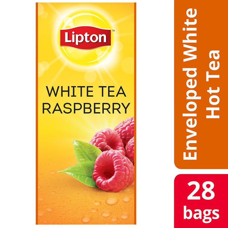 Lipton White Tea with Raspberry 28 Count