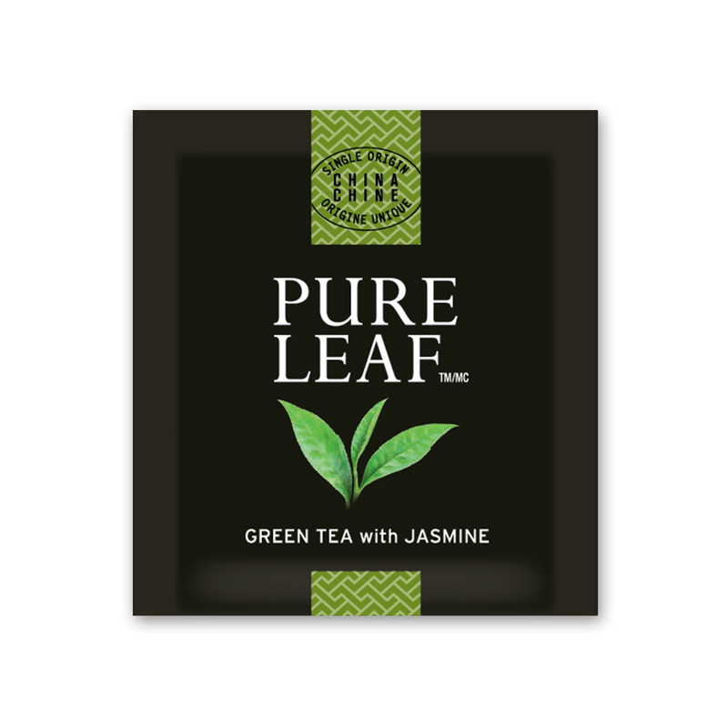 Pure Leaf Hot Tea Bags Green with Jasmine 25 count, Pack of 6