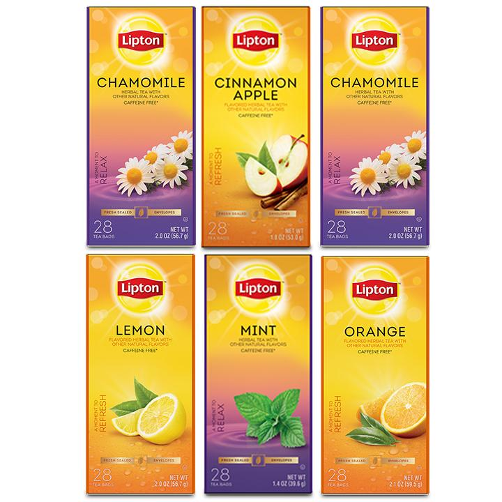 TEMPORARILY OUT OF STOCK Lipton Herbal Variety Pack