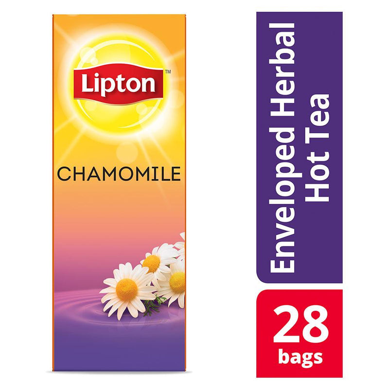 Lipton Chamomile Herbal Tea 28 Count