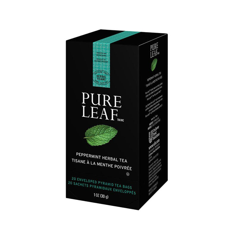 Pure Leaf Hot Tea Bags Peppermint 20 Count, Pack of 6