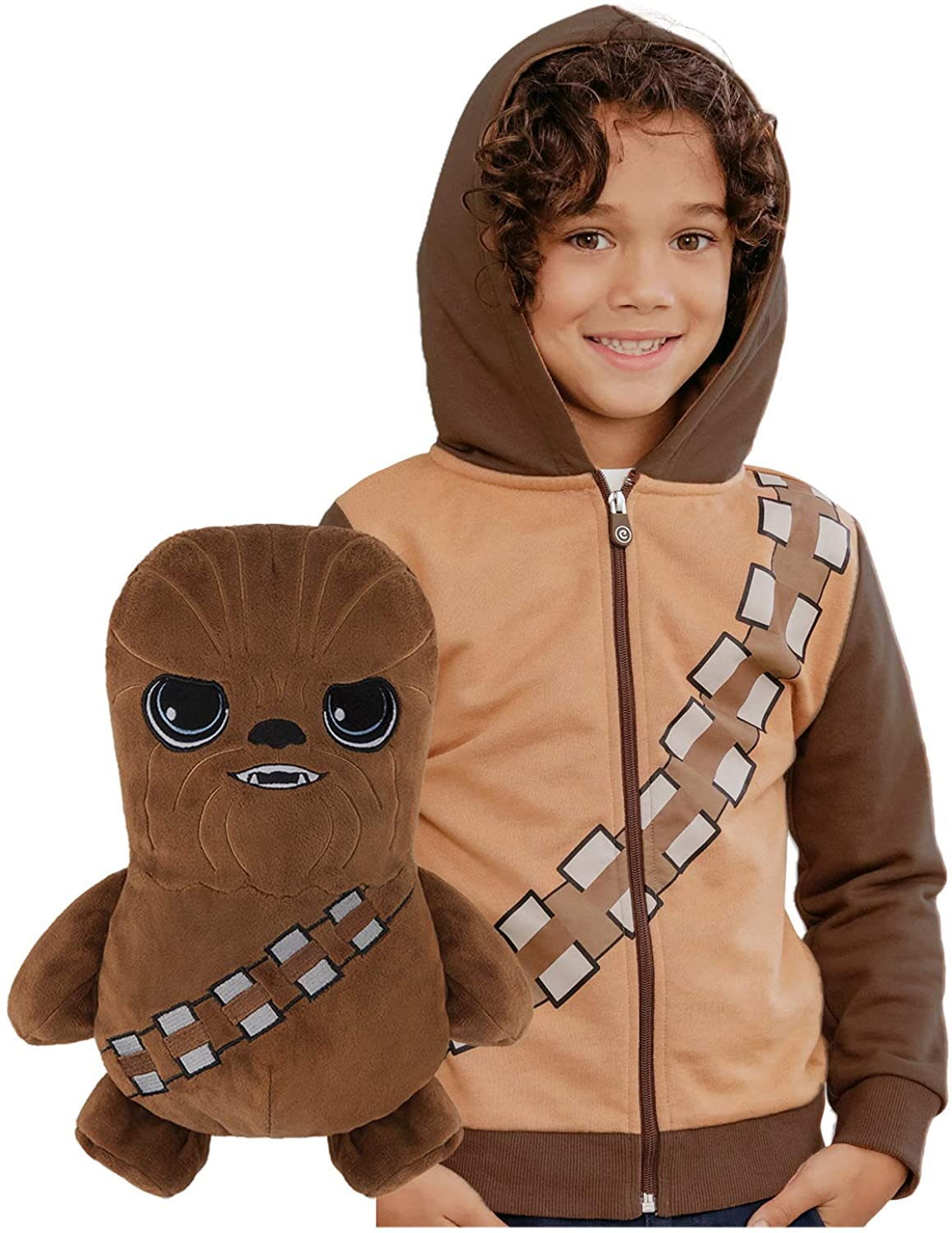 Star Wars Chewbacca Hoodie and Soft Plushie For Kids