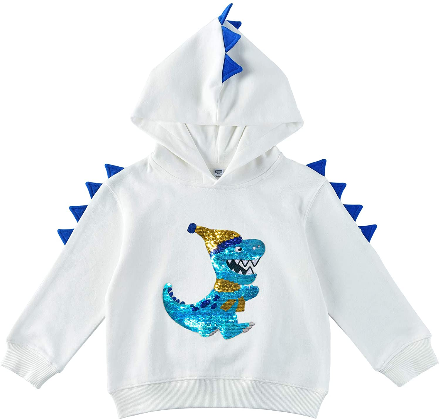 Dinosaur Sweatshirt Printed Hoodies For Kids