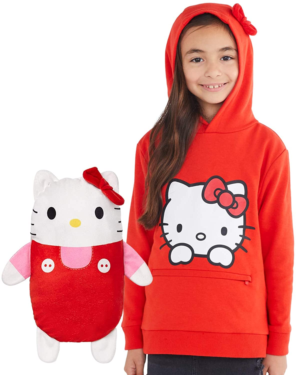 Hello Kitty Hoodie and Soft Plushie For Kids