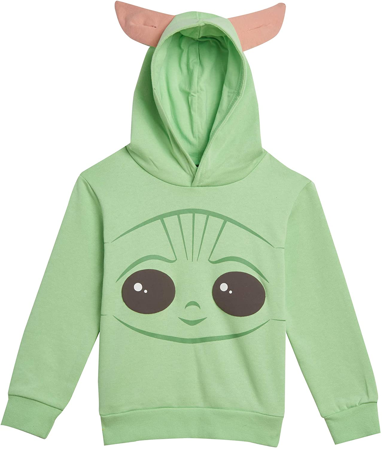 Star Wars Mandalorian The Child Pullover Fleece Costume Hoodie For Kids
