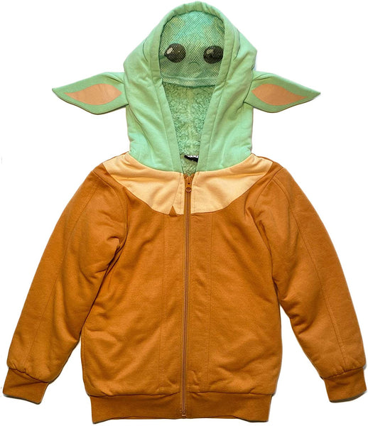 Star Wars Mandalorian Fleece Hoodie For Kids