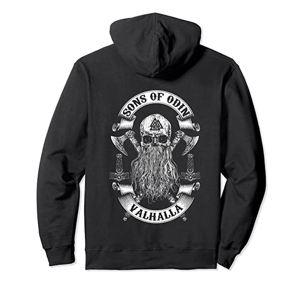 Sons Of Odin- Vikings Nordish Odin Thor Hoodie