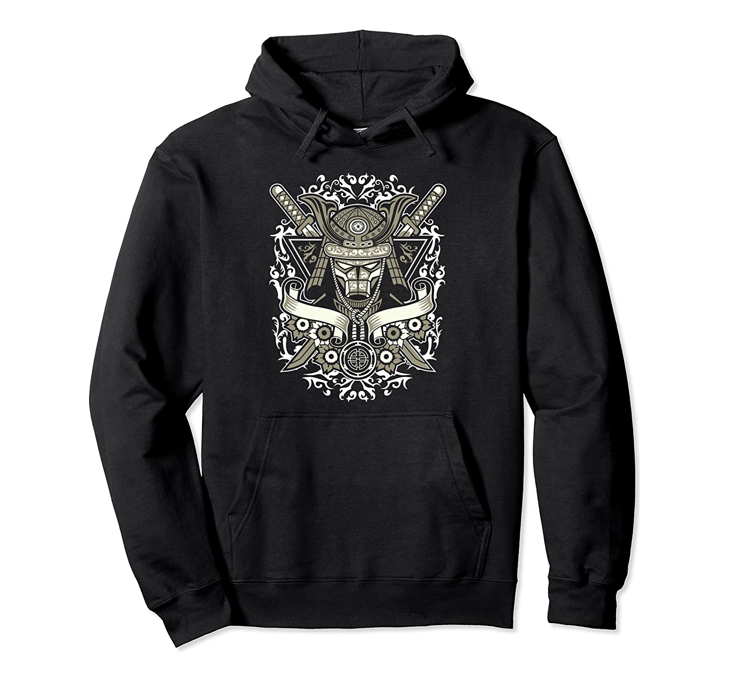 Samurai - Awesome Japanese Retro Pullover Hoodie
