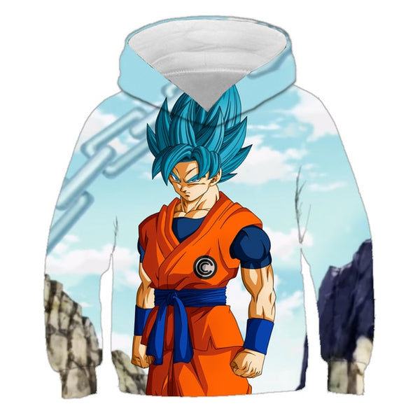 Goku Dragon Ball Z Anime Hoodie