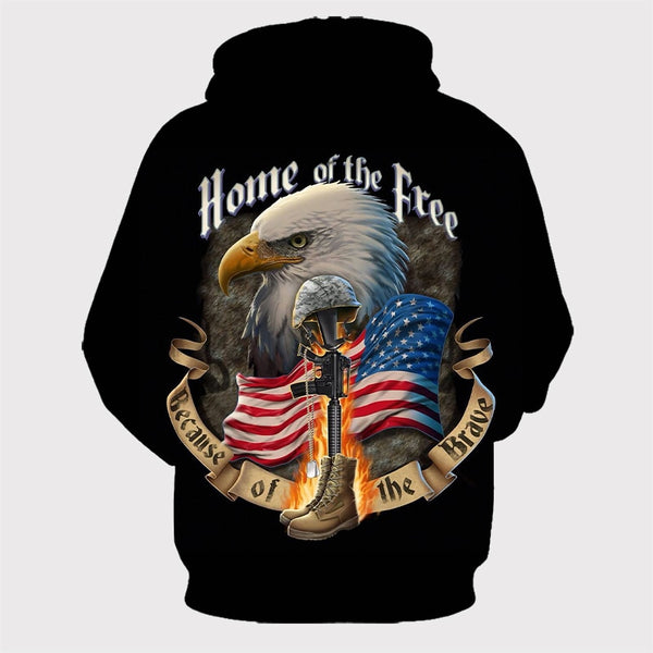 'Home Of the Free' Hoodie