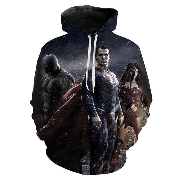 DC Comics Superhero Hoodies