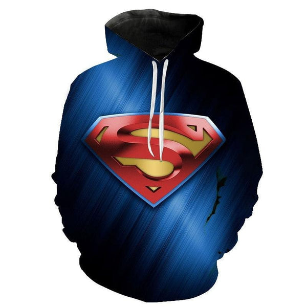 DC Comics Superhero Hoodies - Superman