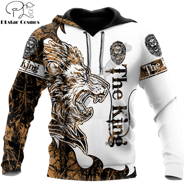 The Lion Tattoo 3D All Over Printed Sweatshirt
