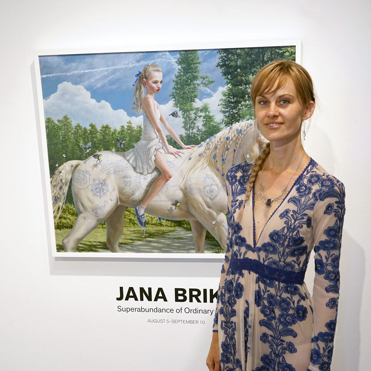 Opening Reception: Jana Brike's 'Superabundance of Ordinary Being' and 'Flux' Group Show/Album Preview