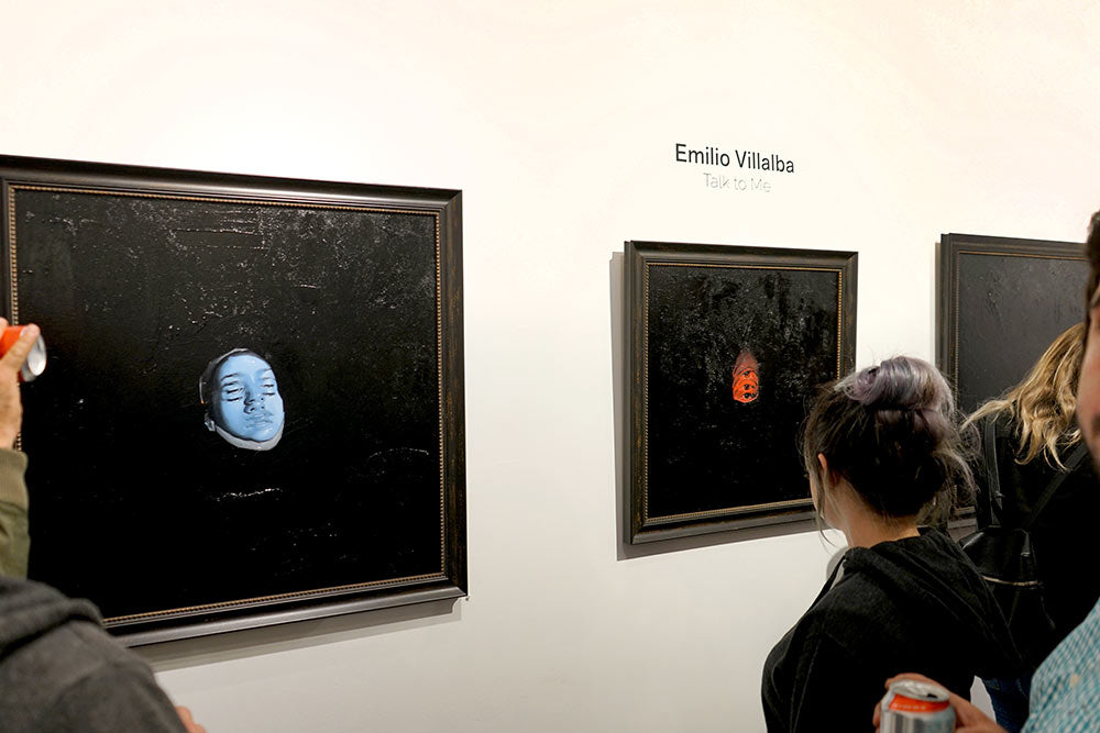 Emilio Villalba New Works on view at Modern Eden SF