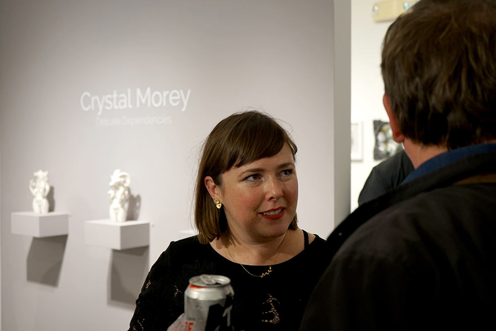 Crystal Morey at Modern Eden Gallery