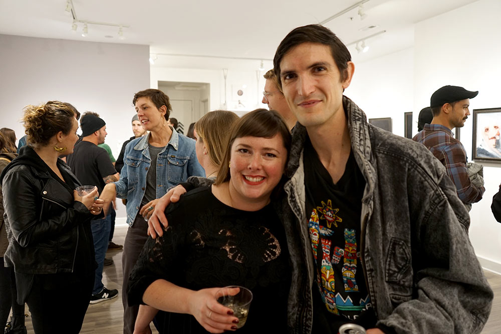 Crystal Morey and Emilio Villalba at Modern Eden Gallery