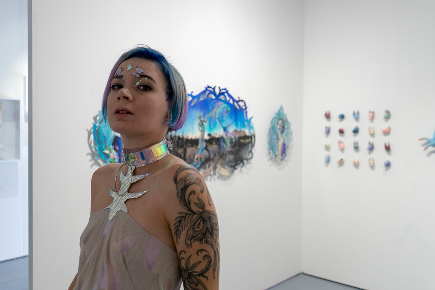 Redd Walitzki at Modern Eden Booth H07 SCOPE Miami Beach 2018