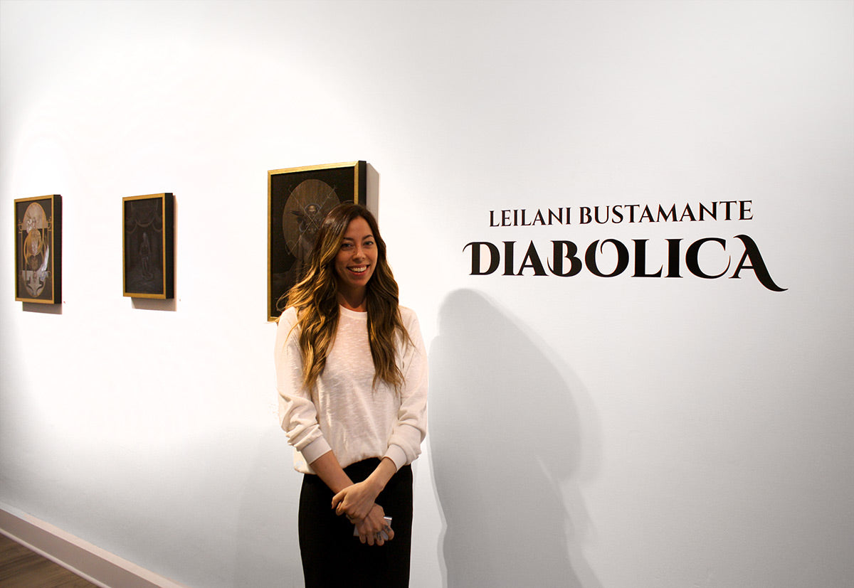 Leilani Bustamante at Modern Eden Gallery for Diabolica