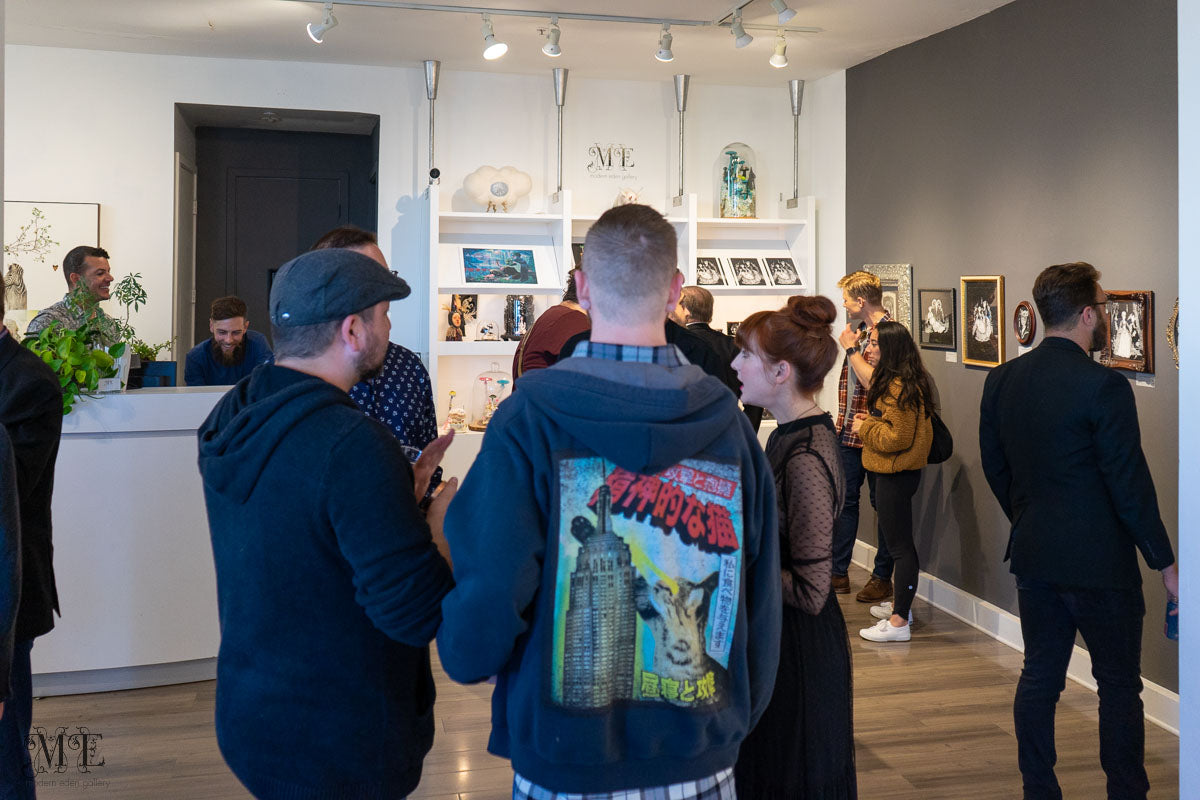 Opening reception at Modern Eden
