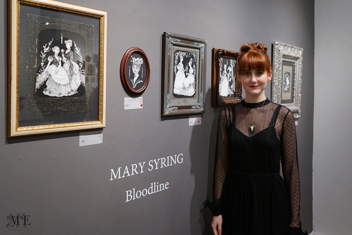 Mary Syring: Bloodline at Modern Eden