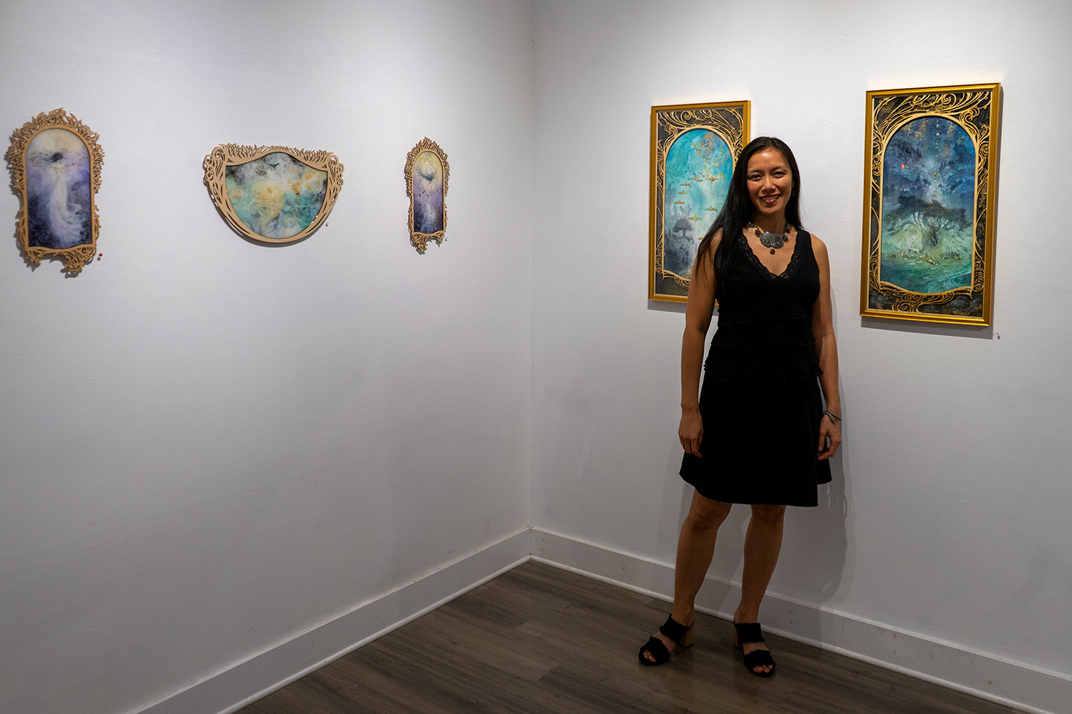 Stephanie Law at Modern Eden Gallery December 2019