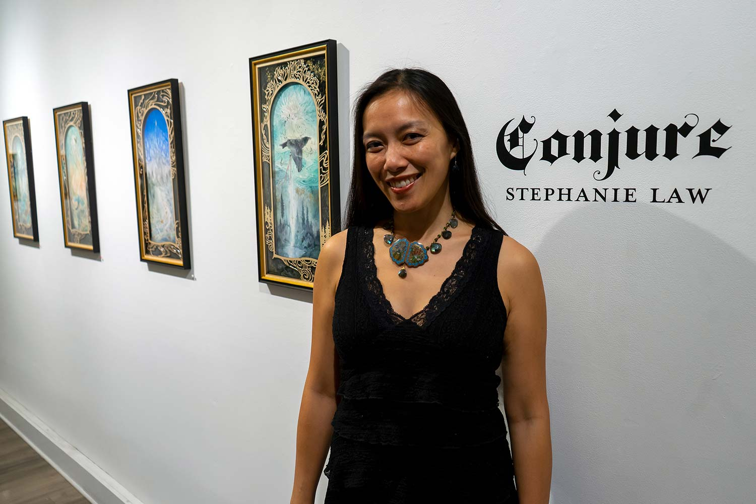 Stephanie Law artist at Modern Eden, SF