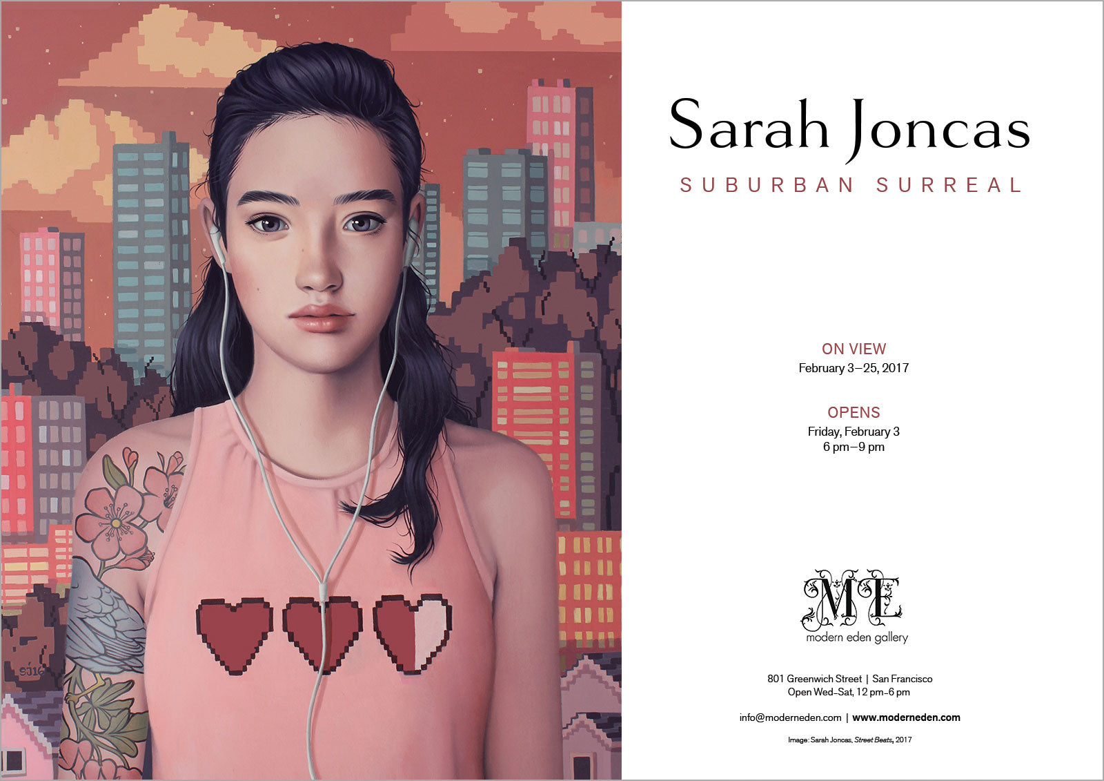 Sarah Joncas at Modern Eden Gallery SF