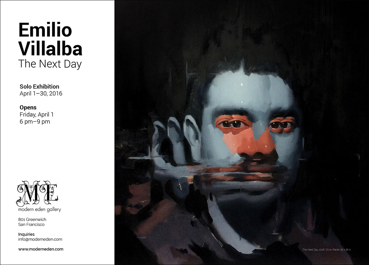 Emilio Villalba Exhibition Flyer