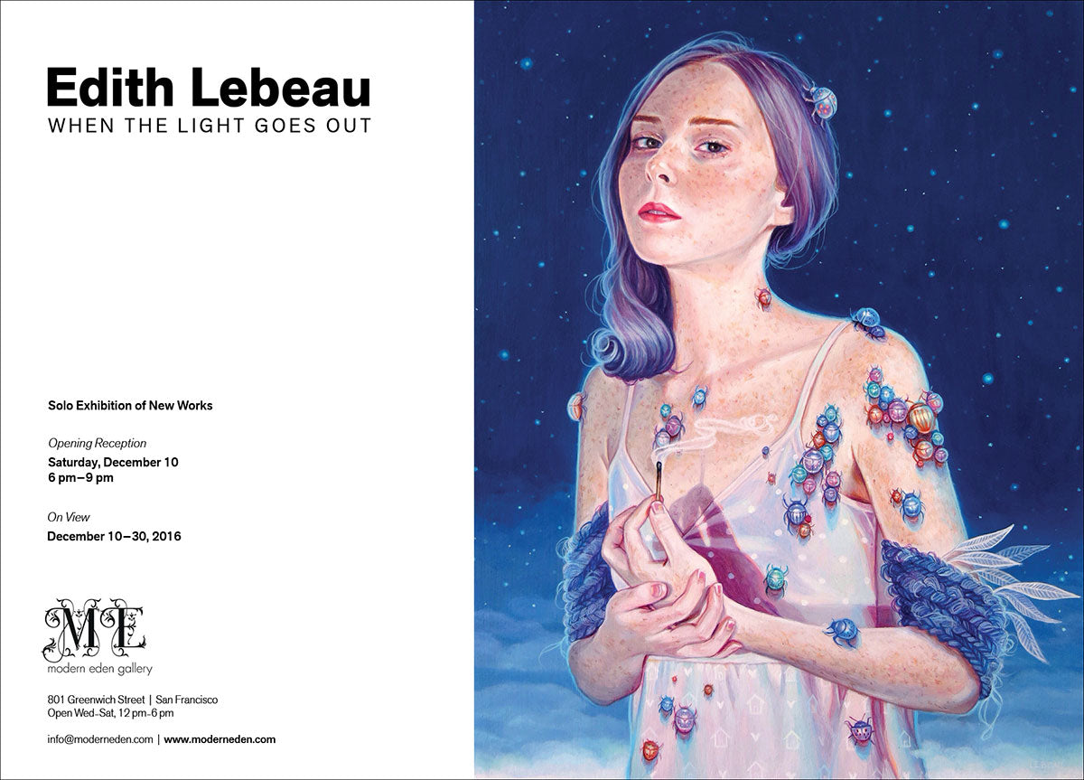 Edith Lebeau: When the Light Goes Out