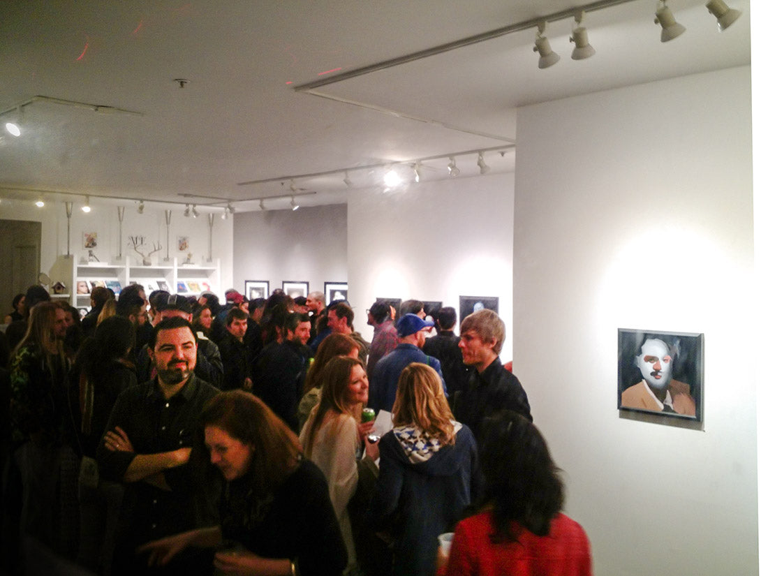 Emilio Villalba Art Opening Reception at Modern Eden Gallery