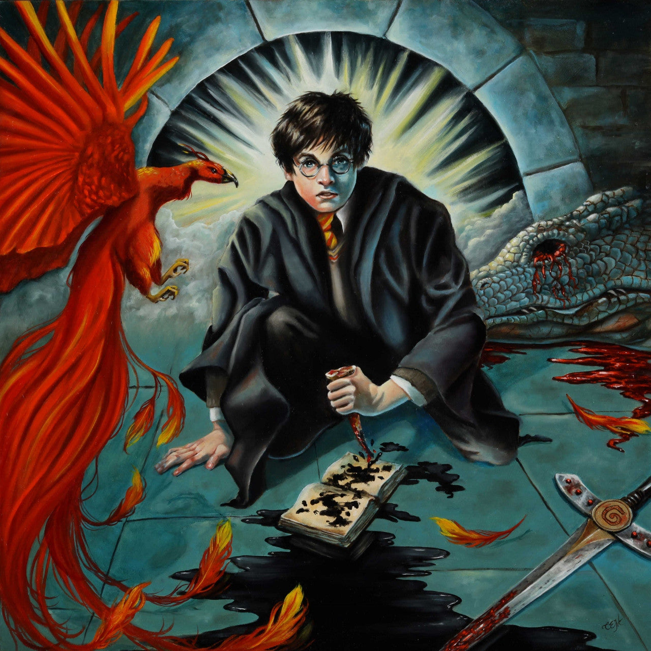 Enemy of the Heir (Harry Potter and the Chamber of Secrets)