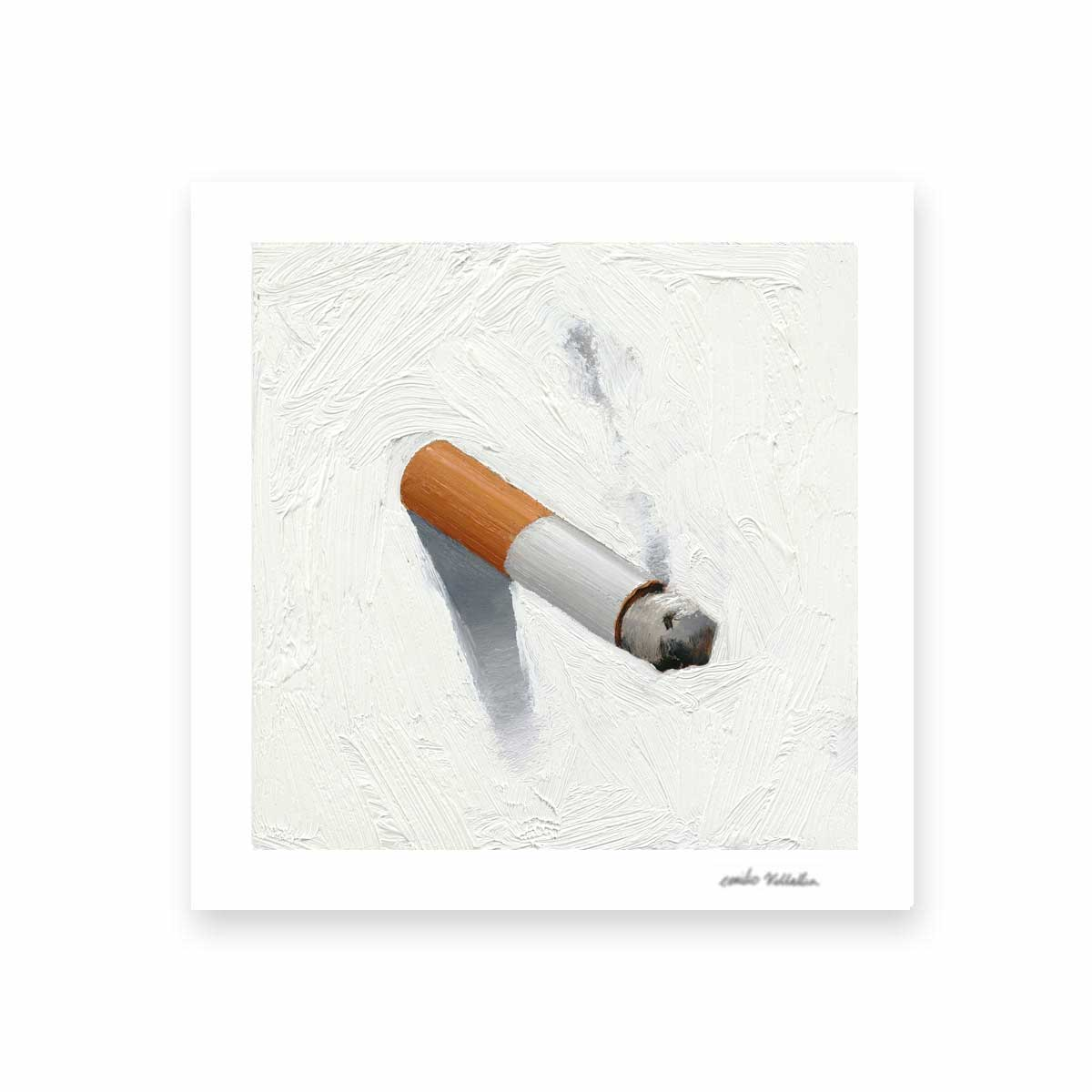 Cigarette Fine Art Prints