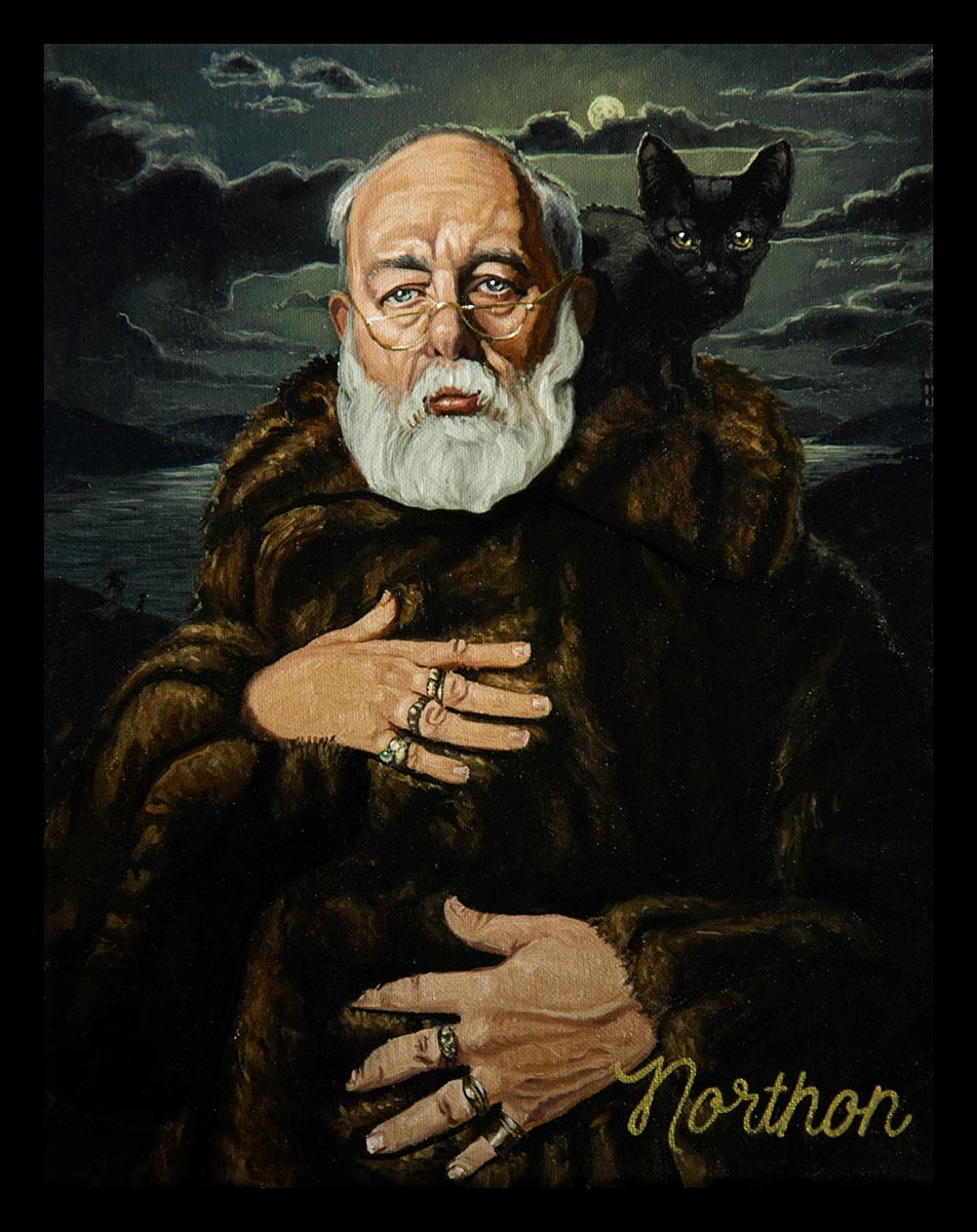 Portrait of Edward Gorey