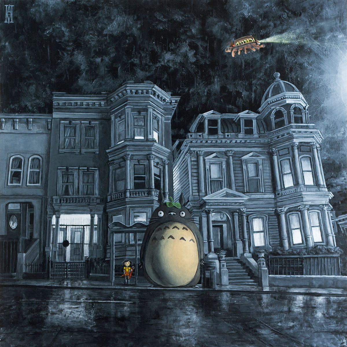 Waiting for the Catbus (My Neighbor Totoro)