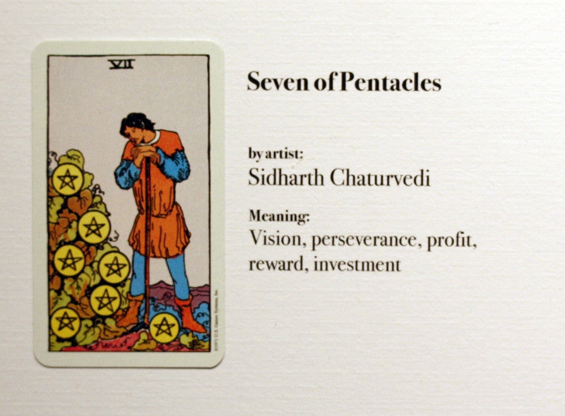 Seven of Pentacles: