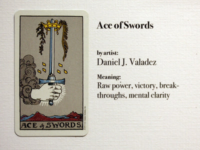 "Ace of Swords: ""Ace"""