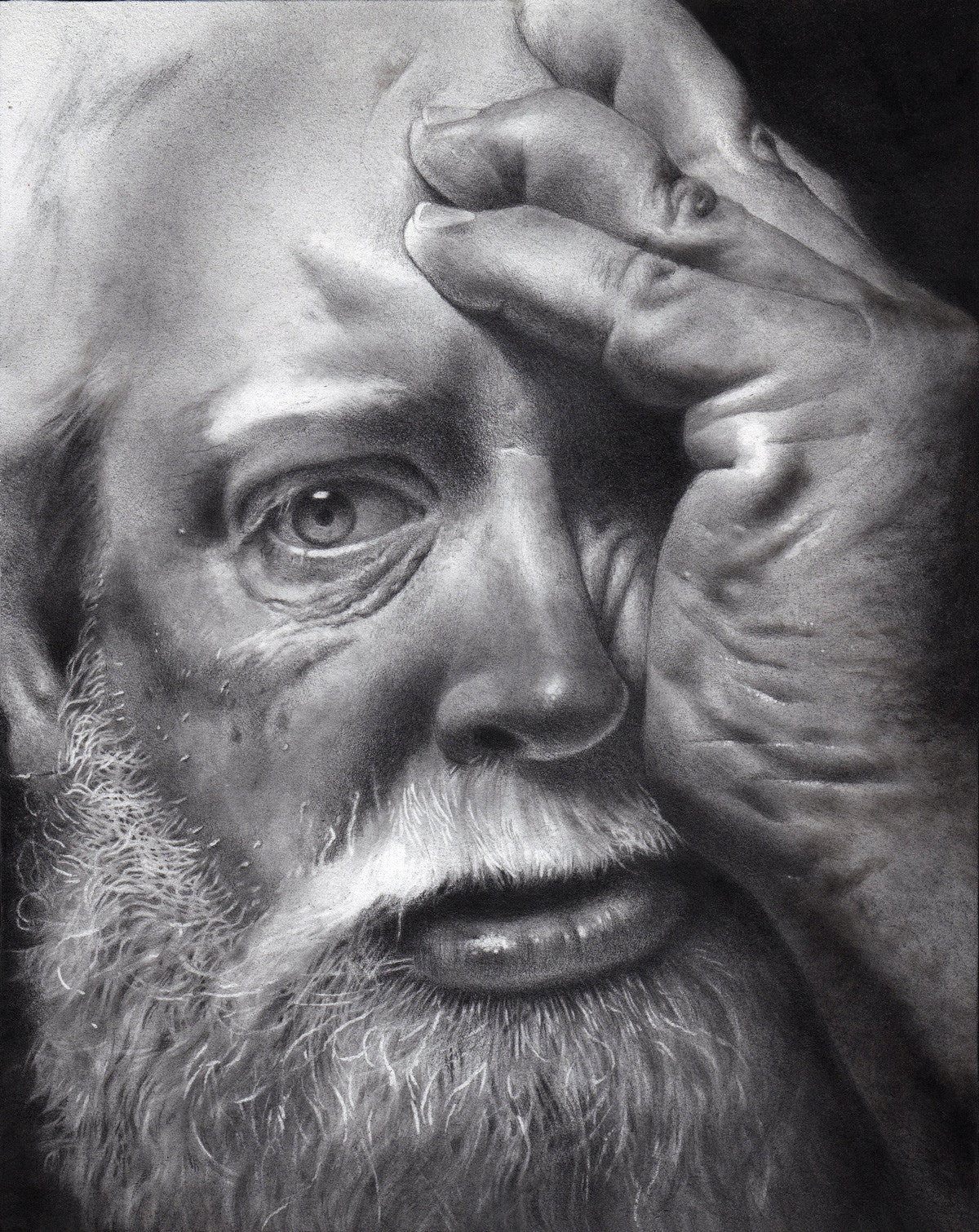 All Dark and Comfortless (W.Shakespeare - King Lear, Portrait of Scott Reeves)