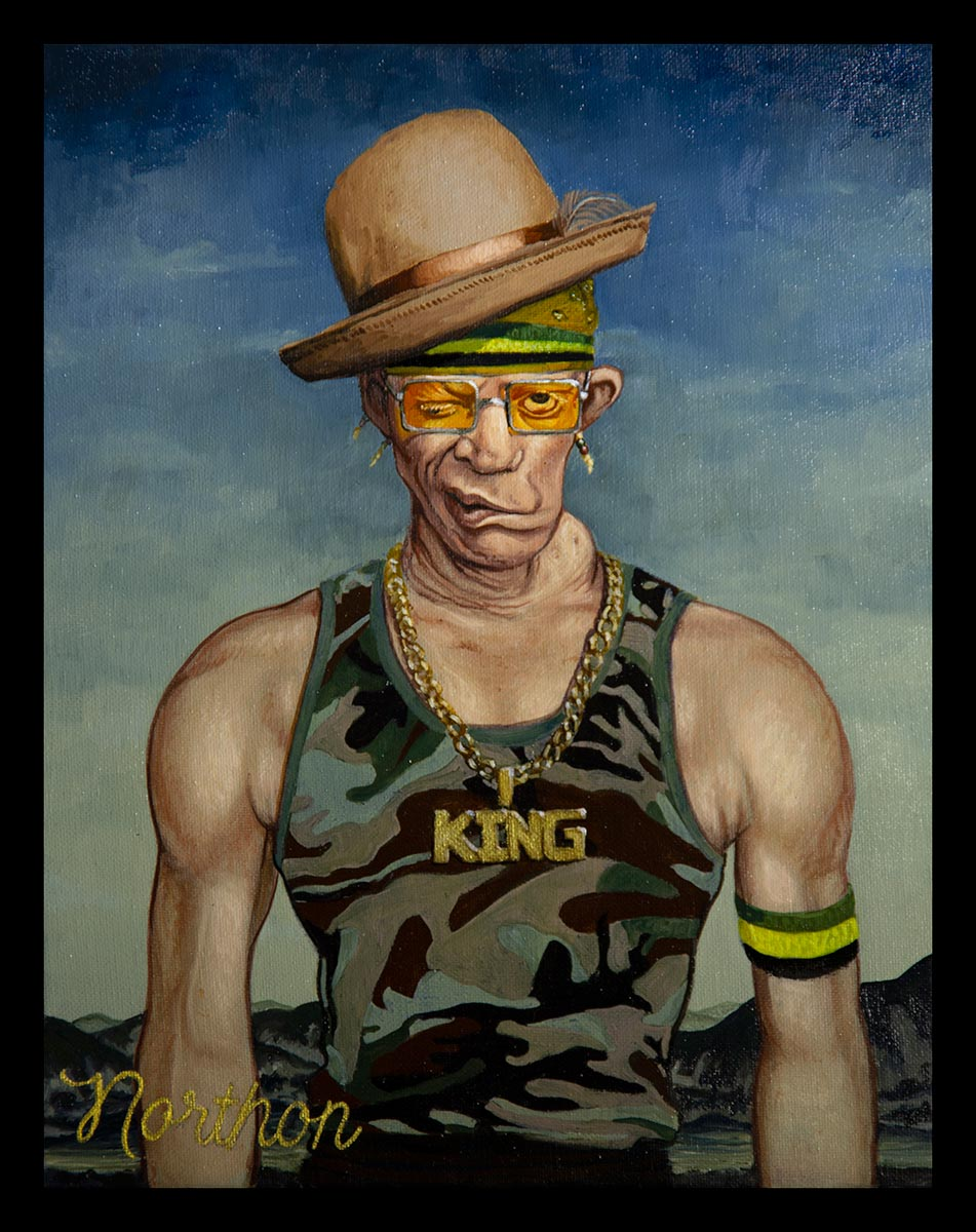 Portrait of King Yellowman