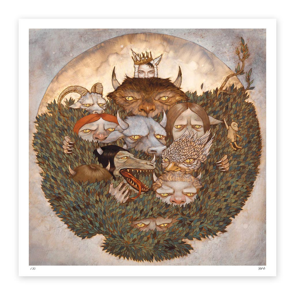 Where the Wild Things Are Fine Art Print