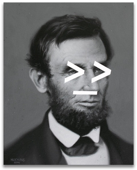 Lincoln's Shifty Gaze